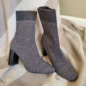 ZARA Basic Sock Boots Size 36